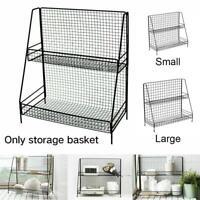 TWO Layer Storage Spice Jar Rack Holder Stand Shelf Kitchen Bath Organizer  home