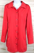 Nike Golf Women's Jacket Pink Size Small 4-6 Long Trench Style Coat EUC A4910