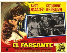 THE RAINMAKER Lobby Card Movie Poster Mexican BURT LANCASTER LLOYD BRIDGES
