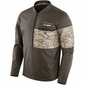 Authentic Nike Minnesota Vikings Men's NFL Salute to Service Hybrid Jacket