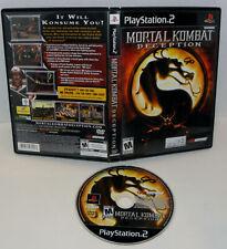 Mortal Kombat  Deception Playstation 2 .Ps2.