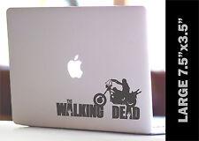 THE WALKING DEAD Daryl on Chopper CUSTOM VINYL DECAL