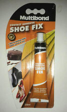Multibond Shoe Fix Repair 20ml Contact Adhesive Glue bond Rubber Leather Canvas