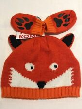 NEW BABY TODDLER CARTER'S KOMBI BEANIE KNIT HAT & MITTEN SET 0-6 & 6-24 mths NWT
