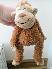 "🐵 Jellycat JUNGLIE BUNGLIE Brown Monkey Chimp Soft Toy Plush 12"" Tall 🐵"