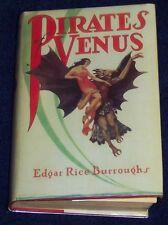 PIRATES OF VENUS Edgar Rice Burroughs (Tarzan) G&D 1936 Fac. Dust Jacket BOOK 1