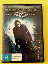 The Dark Knight DVD Aussie Seller Free Postage