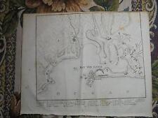 1810 Stich Cadiz Landkarte