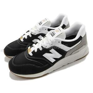 New Balance 997H Black White Grey Gold Men Casual Lifestyle Shoes CM997HHC D