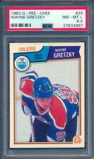 1983-84 OPC O PEE CHEE Hockey #29 Wayne Gretzky PSA 8.5 NM-MINT+ Edmonton Oilers