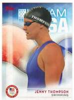 2016 Topps US Olympic Team USA Hopefuls #63 Jenny Thompson  Swimming