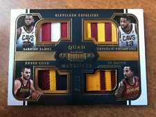 2017-18 Panini Dominion LeBron James Love Thompson Smith Patch 2/10 Sick Patches