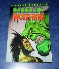 HULK vs WOLVERINE six hours TPB GN (collects 1 2 3 4) MARVEL LEGENDS BRUCE JONES