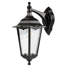 Starlux Turin Aussenwandlampe hängend in schwarz IP 44 Klassisch antikes Design