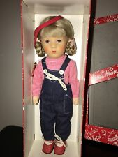 """Doll 14"""" Kathe Kruse Girl MIB Made in Germany Tagged 1970s"""