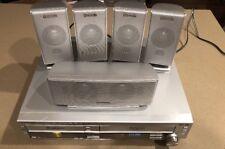 Panasonic 5-DVD Disc Changer VCR VHS HiFi Combo 5.1Ch AM/FM Amplifier SA-HT820V