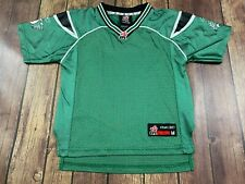 Saskatchewan Roughriders Reebok Green Blank CFL Jersey - Youth Medium