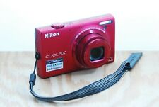 Nikon CoolPix S6100 Digital Camera - 16MP, 7x Wide Zoom, Touchscreen, 4GB Card