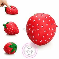 1pc 11CM Squishy Slow Rising Scented Strawberry Squeenze Restore Fun Toy Gift
