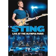 STING LIVE AT THE OLYMPIA PARIS DVD ALL REGIONS NTSC NEW