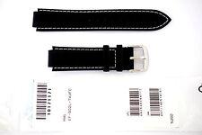 CASIO ORIGINAL REPLACEMENT WATCH BAND: 10171171   EF-502L  BLACK/WHITE STITCHES