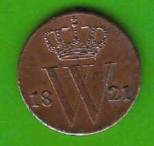 Niederlande 1/2 Cent 1821 besser als vz toll erhalten nswleipzig
