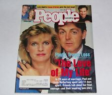 PEOPLE MAGAZINE MAY 4, 1998 PAUL McCARTNEY WIFE LINDA PASSES AWAY COVER