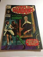 Silver Age Marvel Comics Tower Of Shadows, No.1 Jim Steranko Art, Fine -, 1969