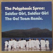 "THE POLYPHONIC SPREE - Soldier Girl ***ltd 7""-Vinyl + Poster***NEW***gatefold***"