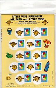 GB 2009 STAMPS FOR KIDS PACK 008 MR MEN LITTLE MISS SUNSHINE MINT