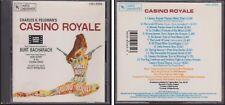 Charles K. Feldman's CASINO ROYALE Soundtrack 1990 CD Burt Bacharach Herb Alpert
