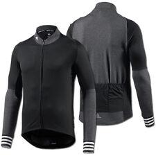 adidas Adistar Belgements Jersey Men Black 2015 Langarm-trikot schwarz L