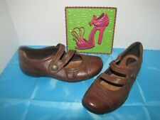 Clarks 'Artisan' Brown Mary Janes - 9W European 40 EUC
