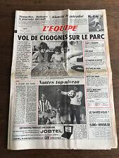 Journal l'équipe - 25 Octobre 1985 - 40 eme année - n 12274