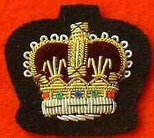 WO2 Mess Dress Badge Warrant Officer 2 Gold On Black