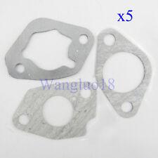 5 Pack Carburetor Carb Paper Gasket Gaskets For Honda GX240 GX270 Engine Motor