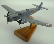 MB-210 Bloch Bomber French MB210 Airplane Desktop Wood Model Big New