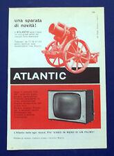 A688-Advertising Pubblicità-1960-ATLANTIC - TELEVISORI