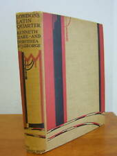 LONDON'S LATIN QUARTER by Kenneth Hare, Illustrated, 1926 1st Ed