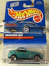 Hot Wheels Mercedes SLK Green