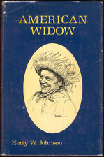 American Widow Sweden Finland Waukegan Ketty Wangman Johnson Bio Book HC DJ