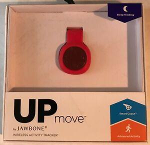 Jawbone - Move Up Wireless Activity Tracker W/ Sleep Tracking - RED - Brand New
