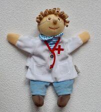 STERNTALER Arzt Doktor weiß Schmusetuch Schnuffeltuch Kuscheltuch Handpuppe *