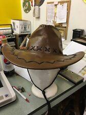 Vintage Cowboy Hat Bull On It Men 6-7/8 Western Rodeo Rider Beach Bum Old School