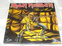 Iron Maiden Piece Of Mind Sealed Vinyl Record LP USA 1983 Promo ST-12274 Orig