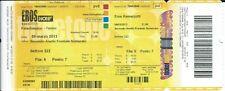 Ticket Concert: Eros Ramazzotti (9/3/2013) Palaomimpico Torino