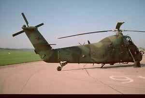 AIRCRAFT COLOUR SLIDE N18 ROYAL AIR FORCE WESTLAND WESSEX  XR511  KODACHROME