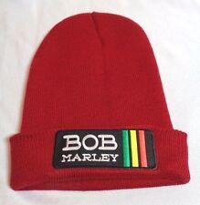 reggae knit hat cap beanie beany rasta bob marley jamaica irie jah rastafari red