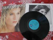 Samanta Fox  12  grands succes LP Album  US pressing