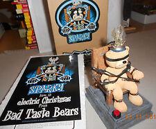 Bad Taste Bears Xmas 2005 Sparky Electric Chair OVP rares oggetto da collezione